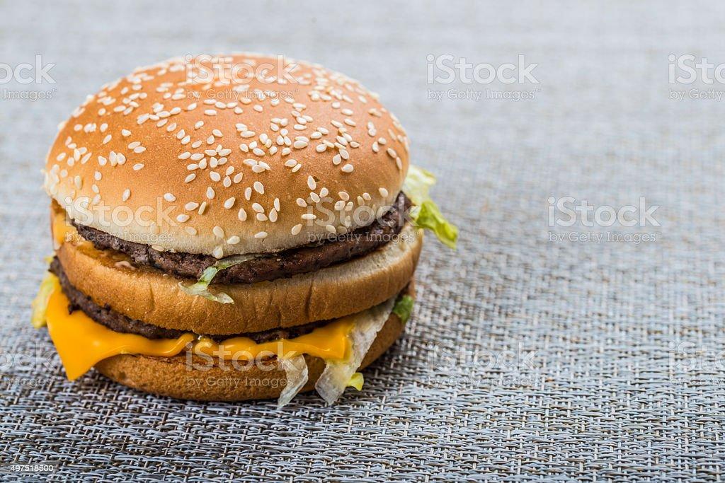 delicacy Hamburgs stock photo