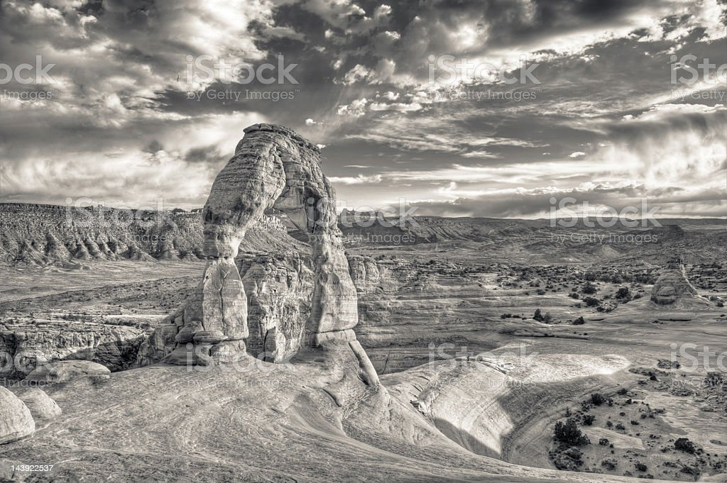 Delicate Arch, Arches National Park royalty-free stock photo