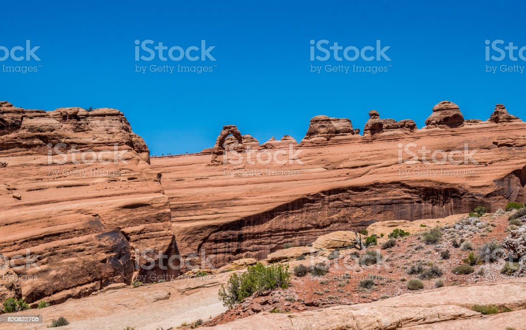Delicate arch. Arches National Park, Utah stock photo
