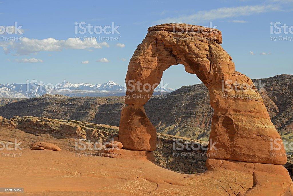 Delicate Arch stock photo