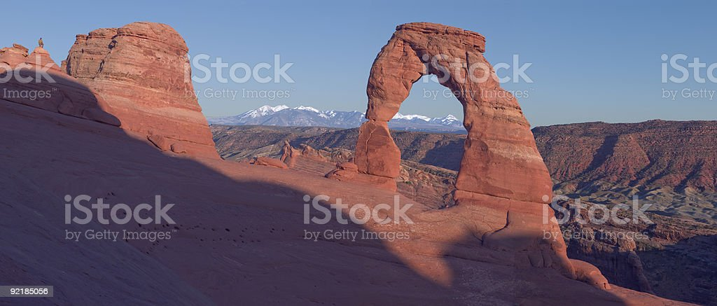 Delicate Arch XXLarge Panarama royalty-free stock photo