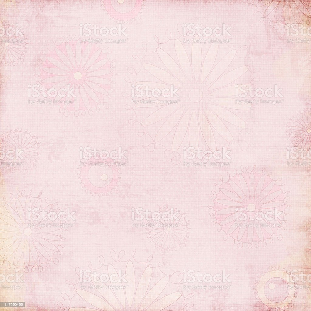Delicate Dreams Pink Flower royalty-free stock photo