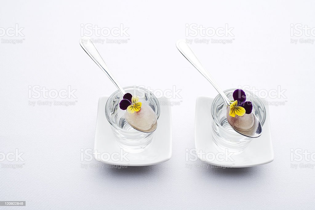 Delicate gelification royalty-free stock photo