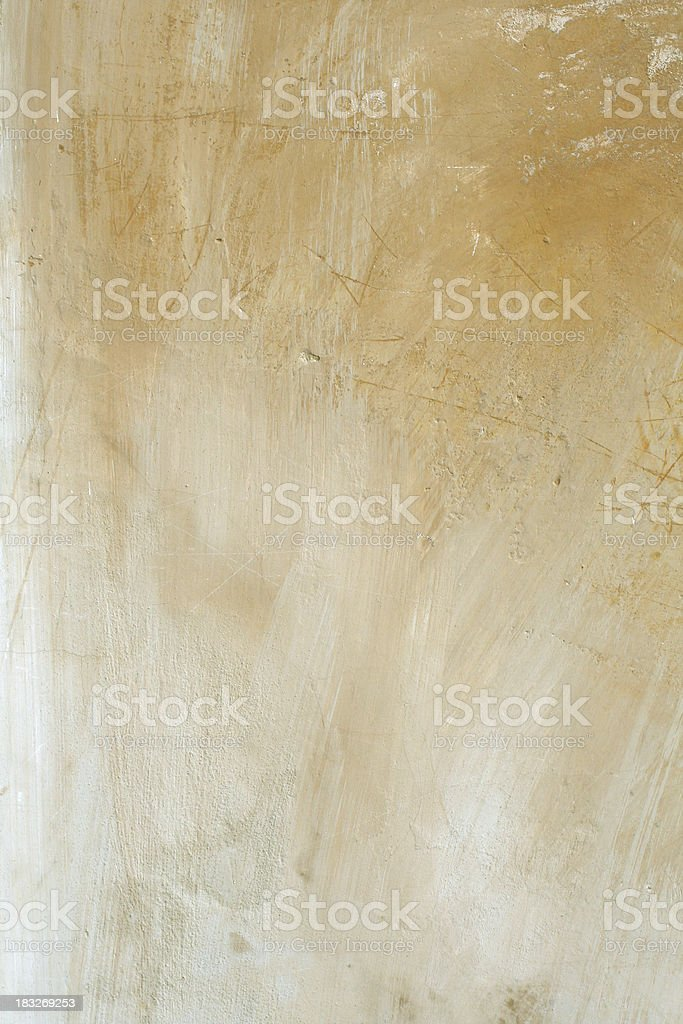Delicate grungy Roman wall royalty-free stock photo