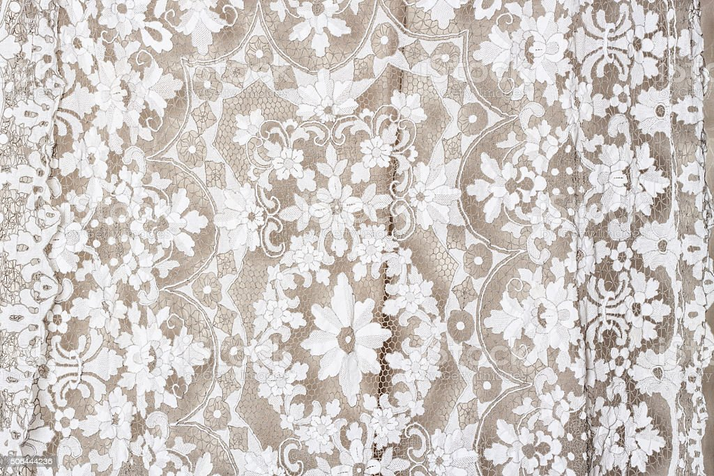Delicate lace background stock photo