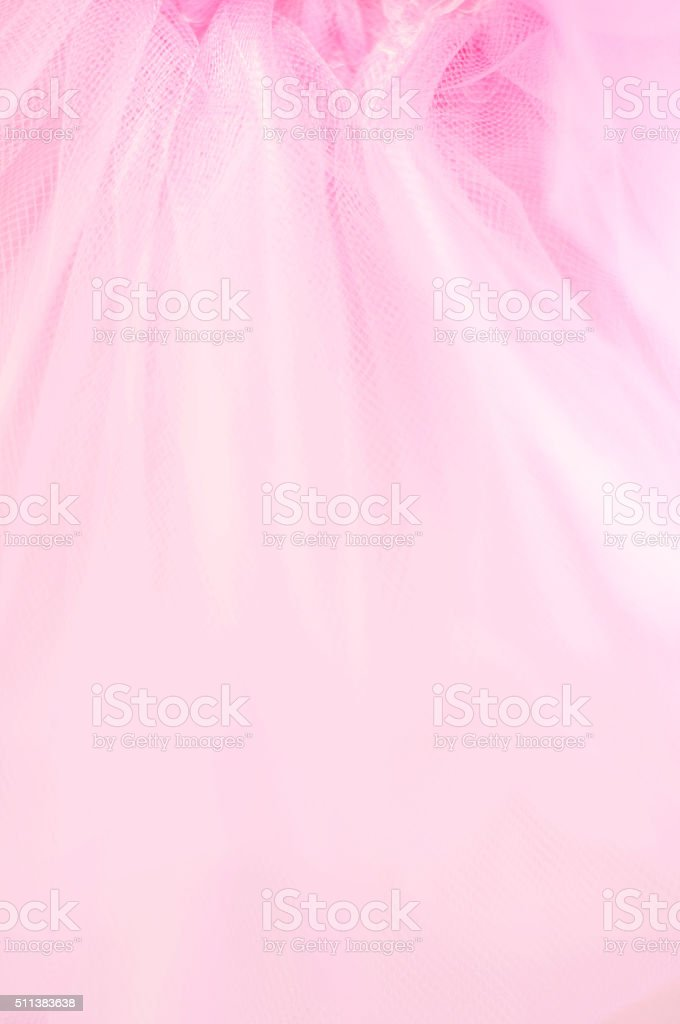 Delicate pink background blur guipure stock photo