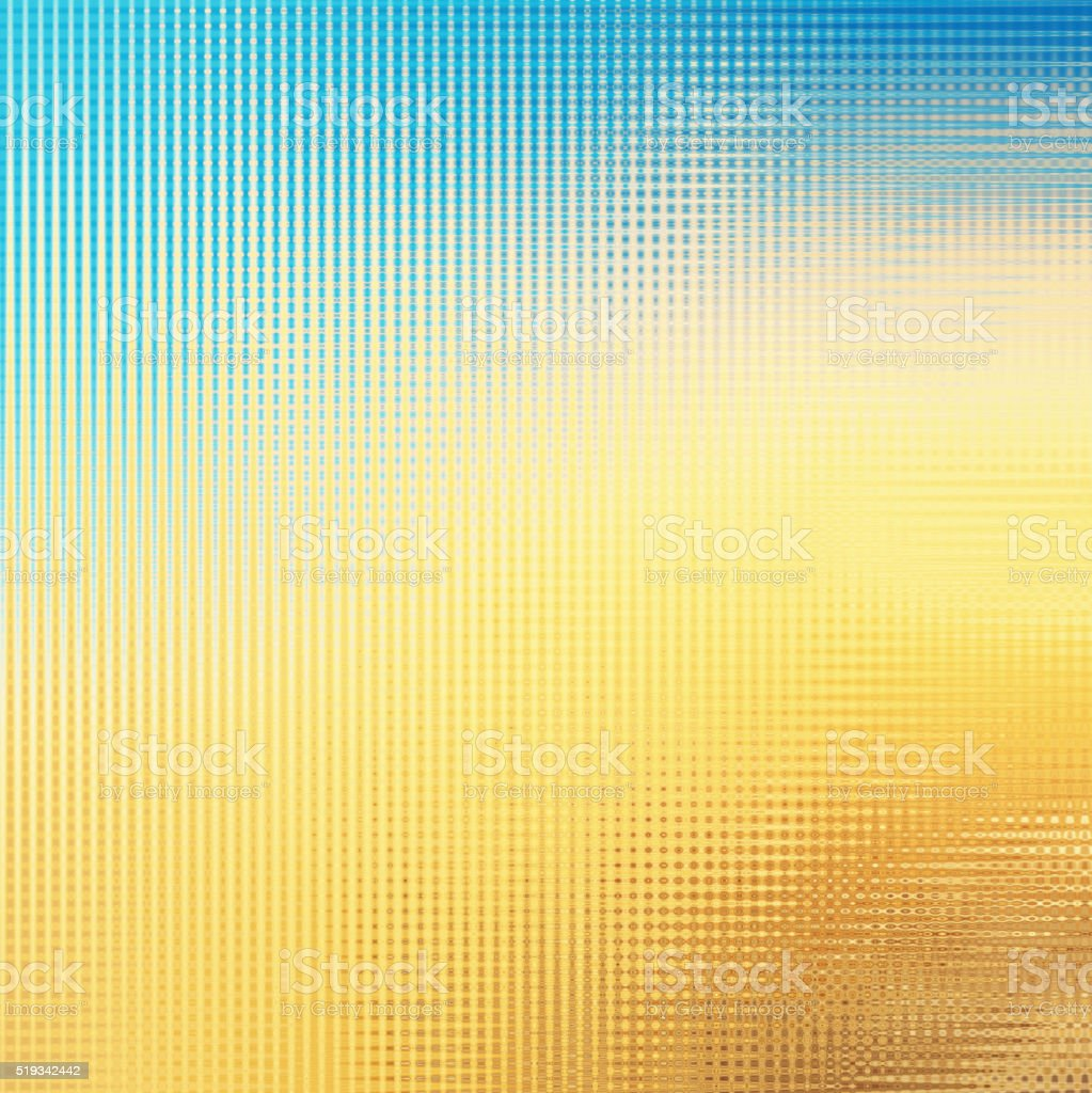 Delicate Soft Modern Pattern Abstract Background Blue Yellow Orange stock photo
