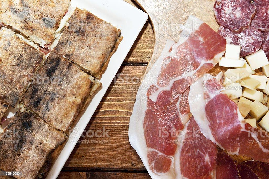 delicatessen Meat Dish royalty-free stock photo