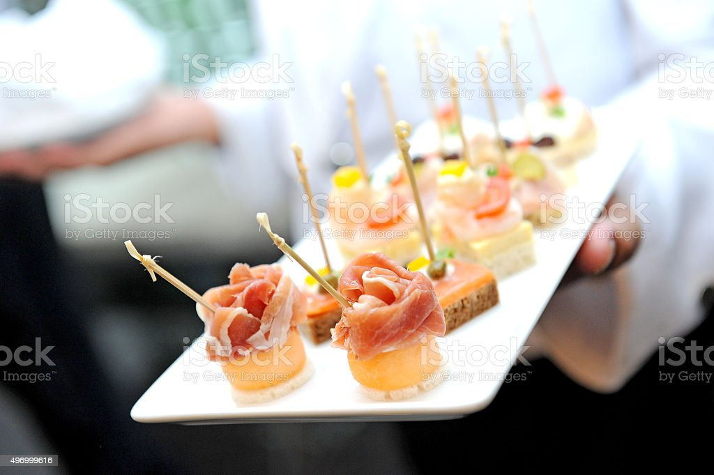 delicious  appetizer stock photo