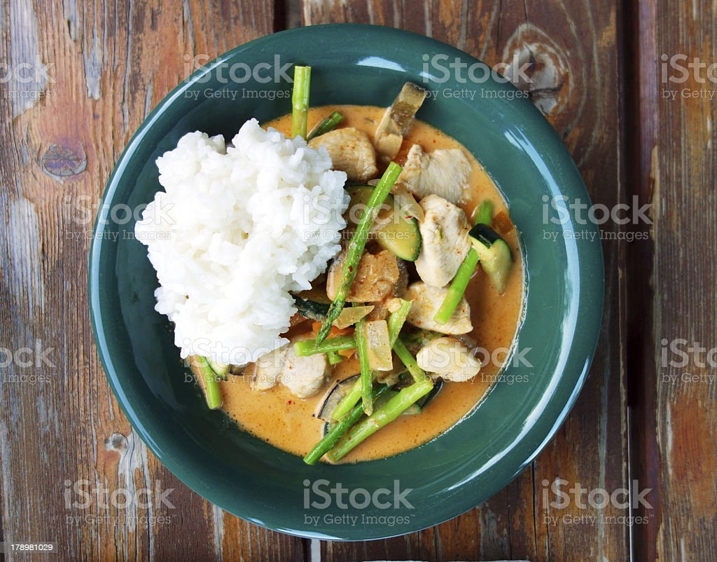 Delicious asian food royalty-free stock photo
