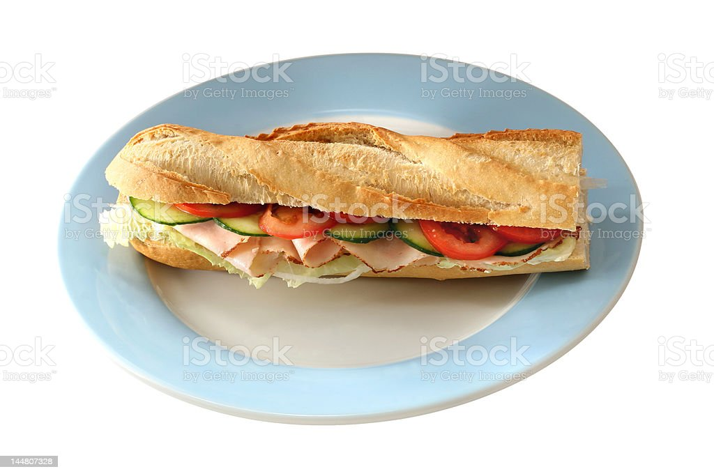 Delicious Baguette royalty-free stock photo