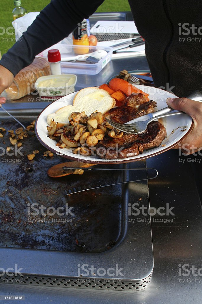 Delicious BBQ royalty-free stock photo