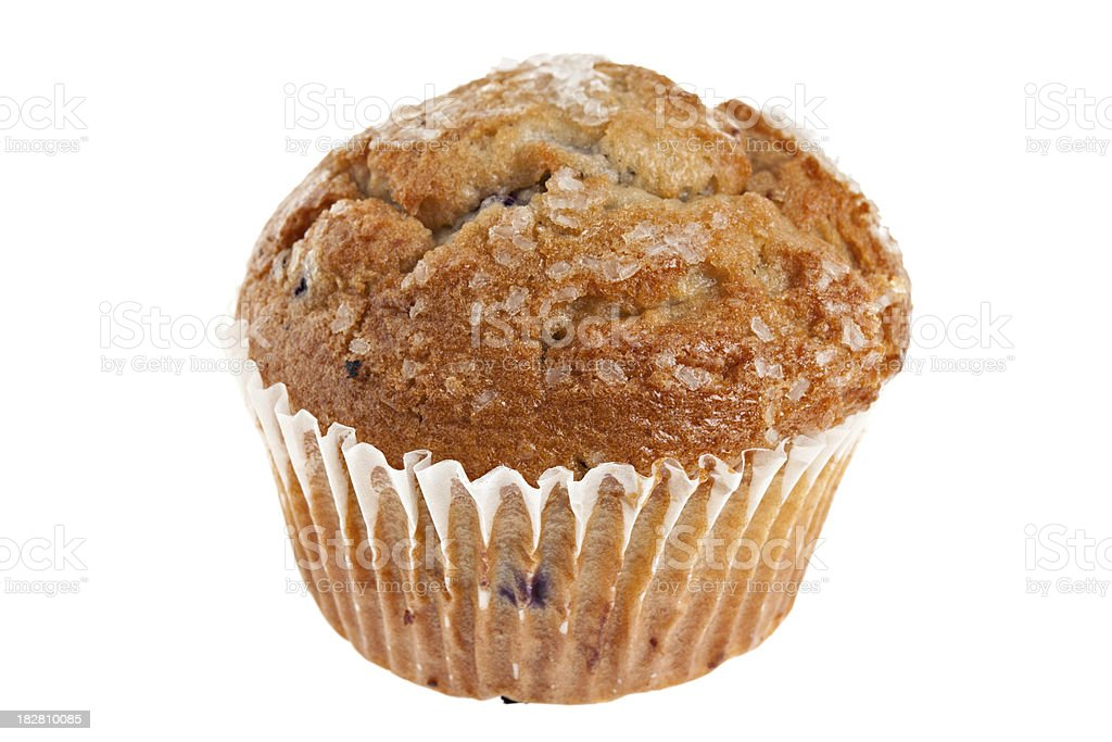 Delicious Blueberry Muffin royalty-free stock photo