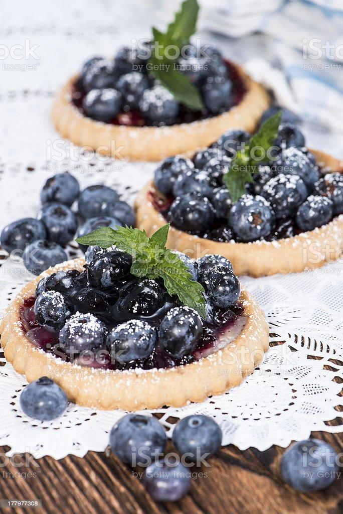 Delicious Blueberry Tart royalty-free stock photo