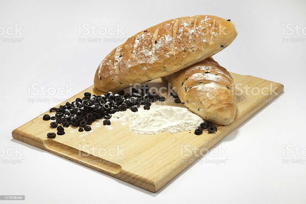 delicious bread royalty-free stock photo