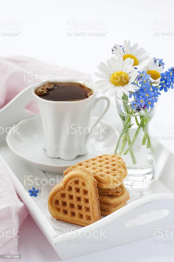 Delicioso café-da-manhã foto royalty-free