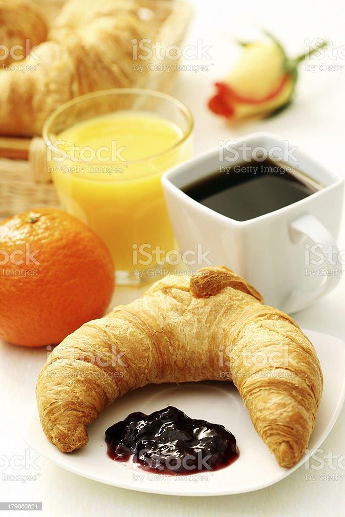 delicious breakfast royalty-free stock photo