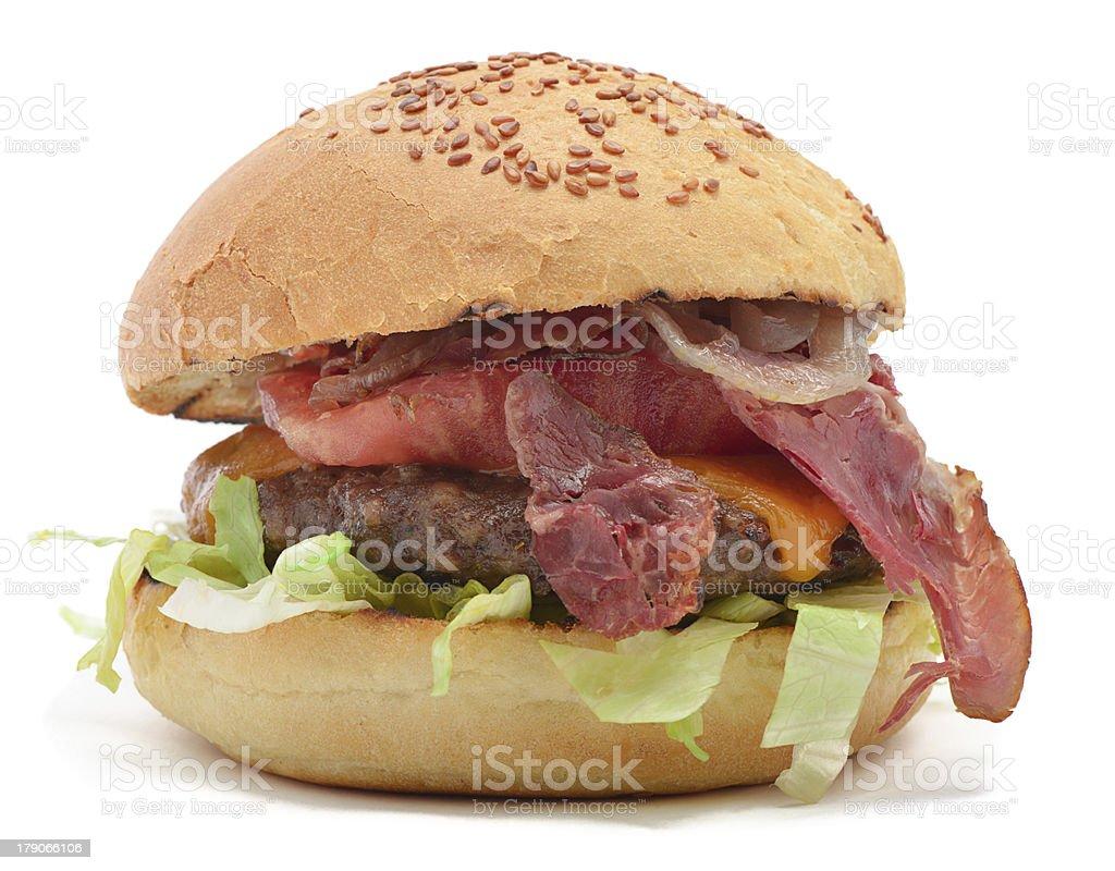 Delicious Burger royalty-free stock photo