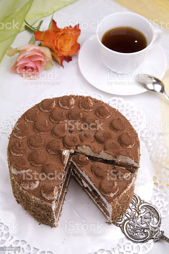 delicious cake royalty-free stock photo