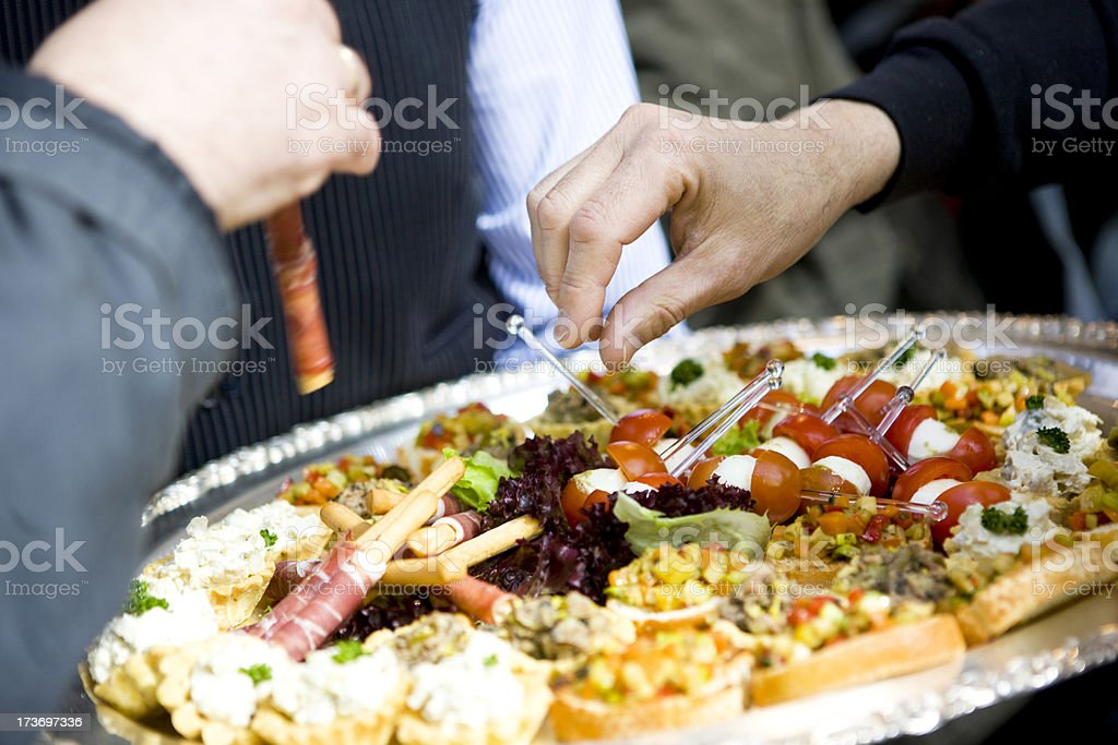 Delicious Catering royalty-free stock photo
