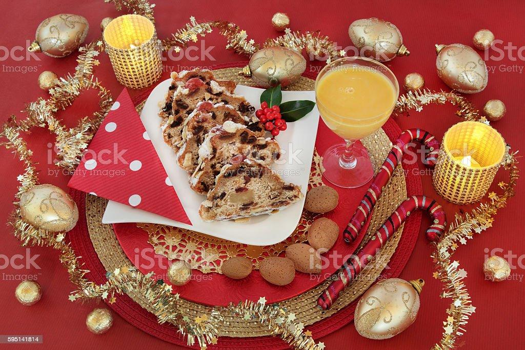 Delicious Christmas Food stock photo