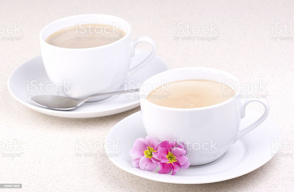 Delicious Coffee (or hot chocolate) royalty-free stock photo