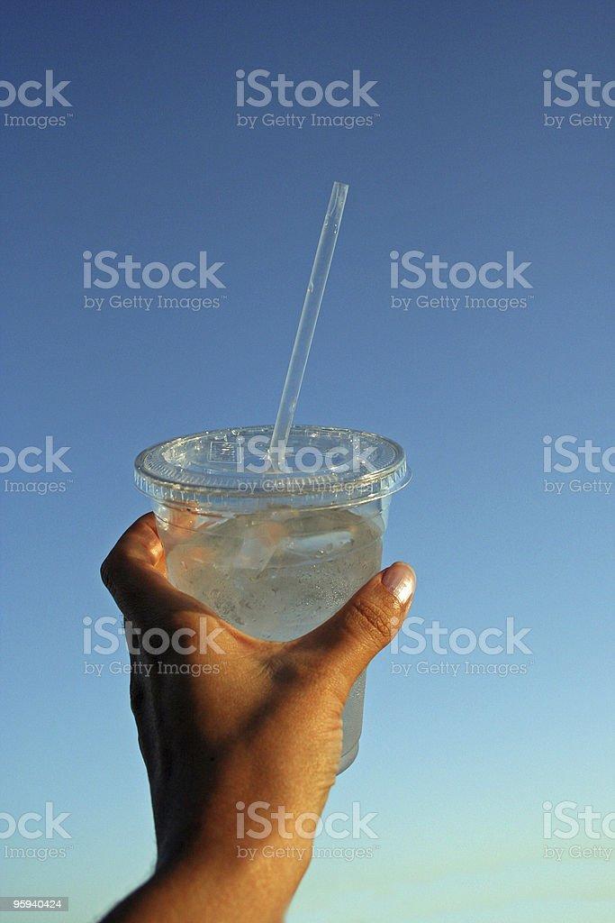 Délicieuse de l'eau froide photo libre de droits