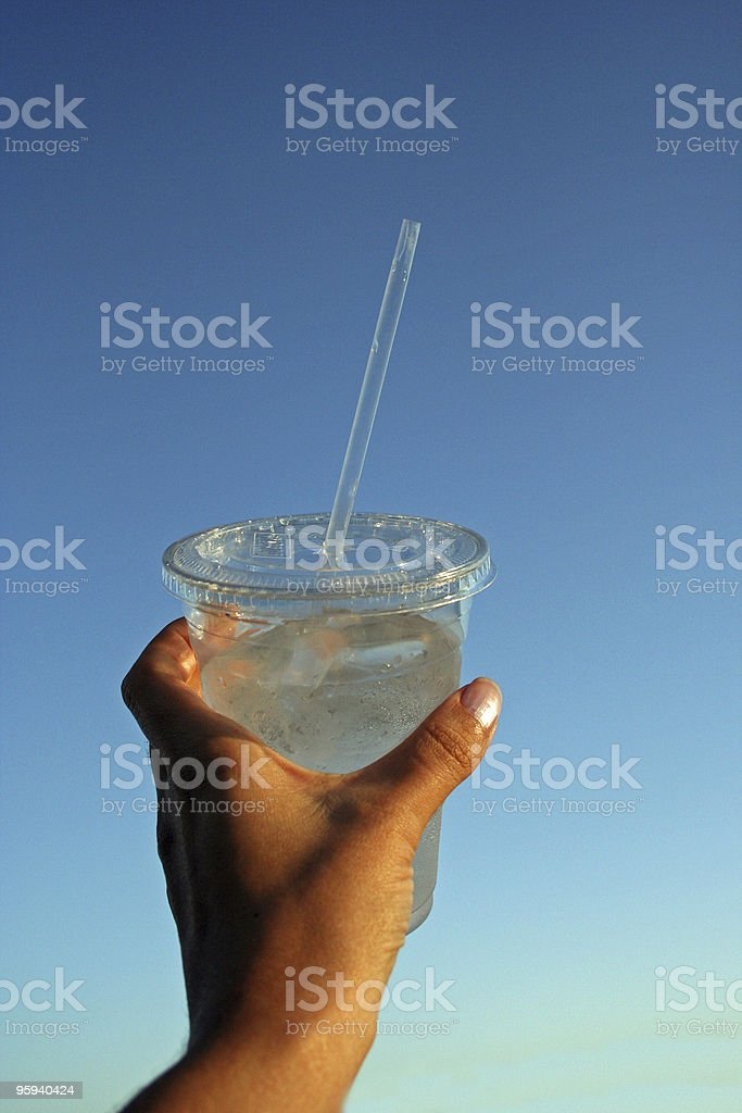 Delicious Cold Water stock photo