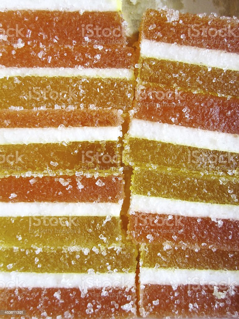 Delicious colorful marmalade background stock photo