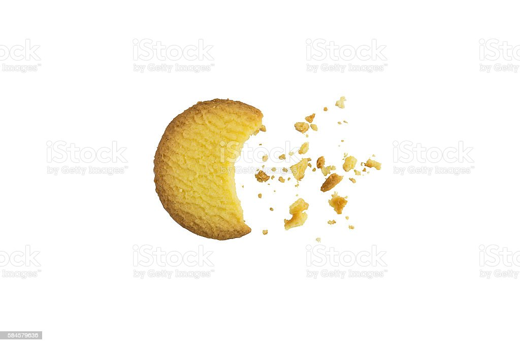 delicious cookies stock photo