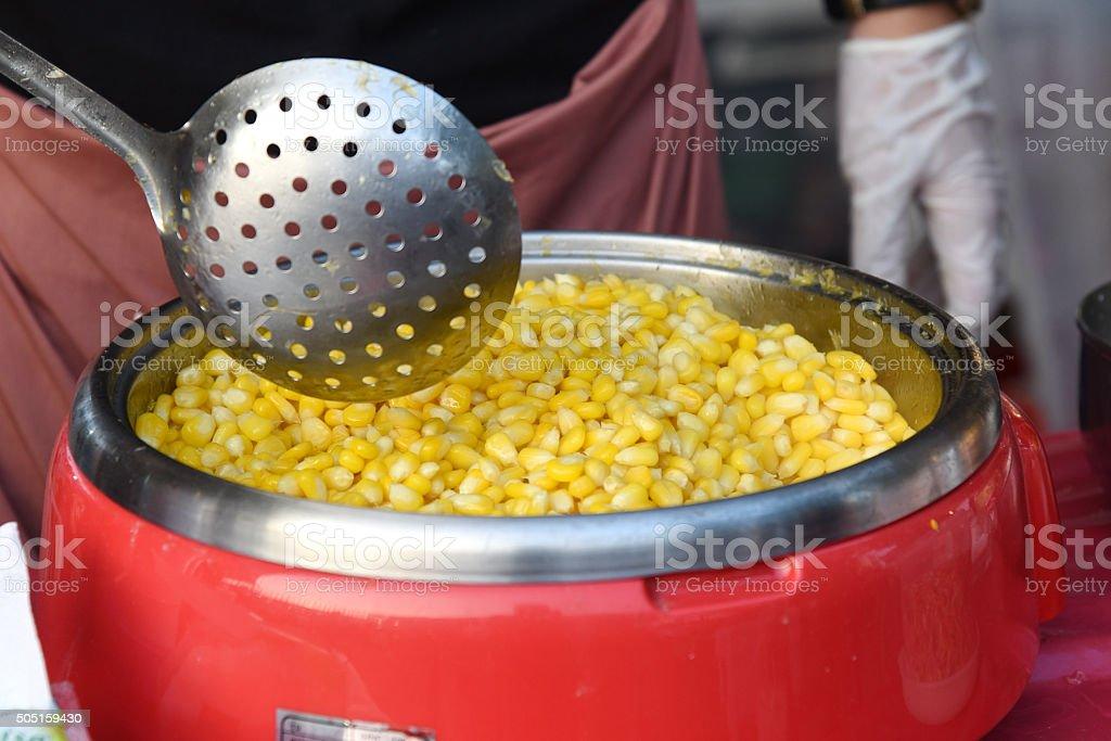 Délicieux maïs photo libre de droits