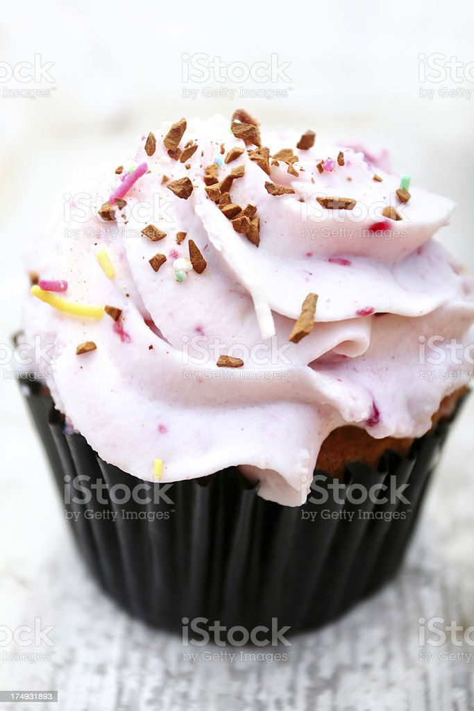 delicious cupcake royalty-free stock photo