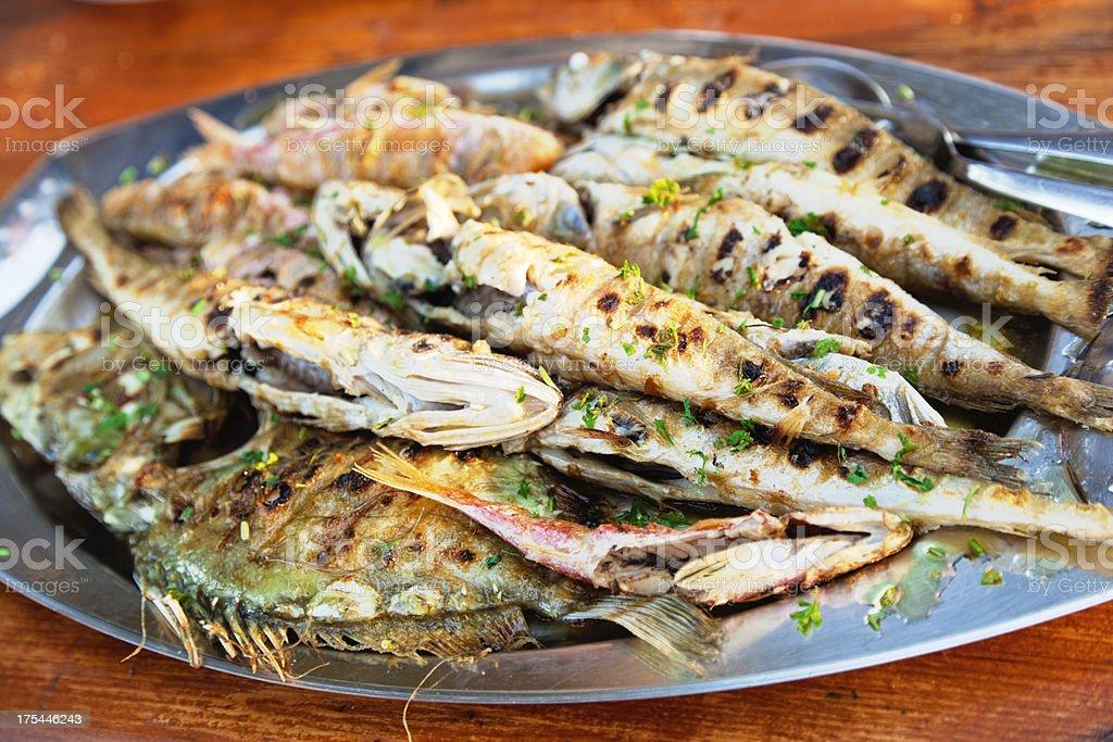 delicious dalmatian lunch stock photo