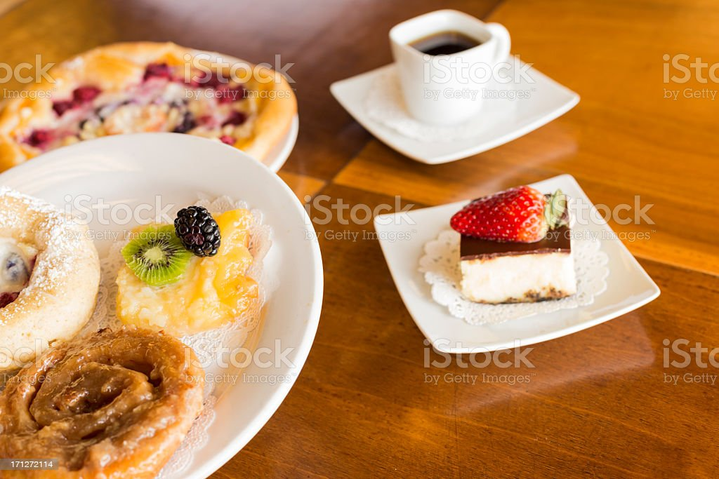 Delicious Desserts royalty-free stock photo