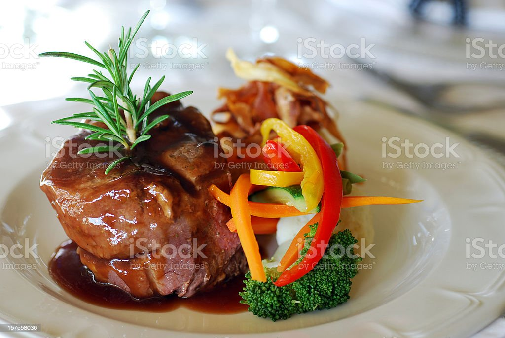 Delicious Fillet stock photo
