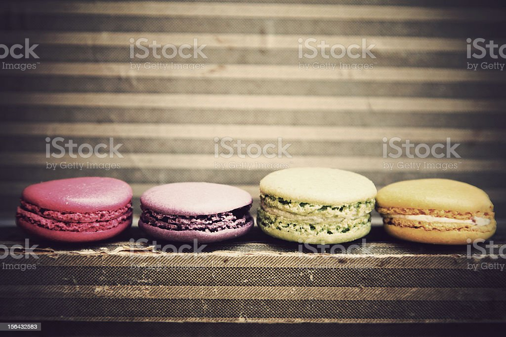 delicious french macarone royalty-free stock photo
