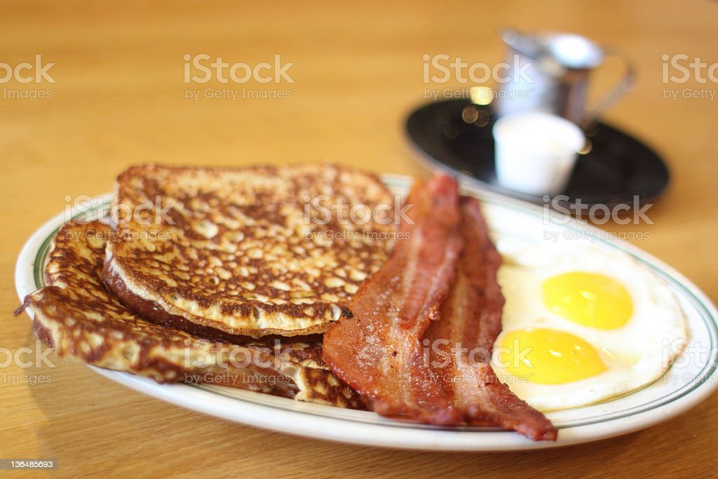 Delicious French toast royalty-free stock photo