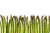 Delicious fresh asparagus