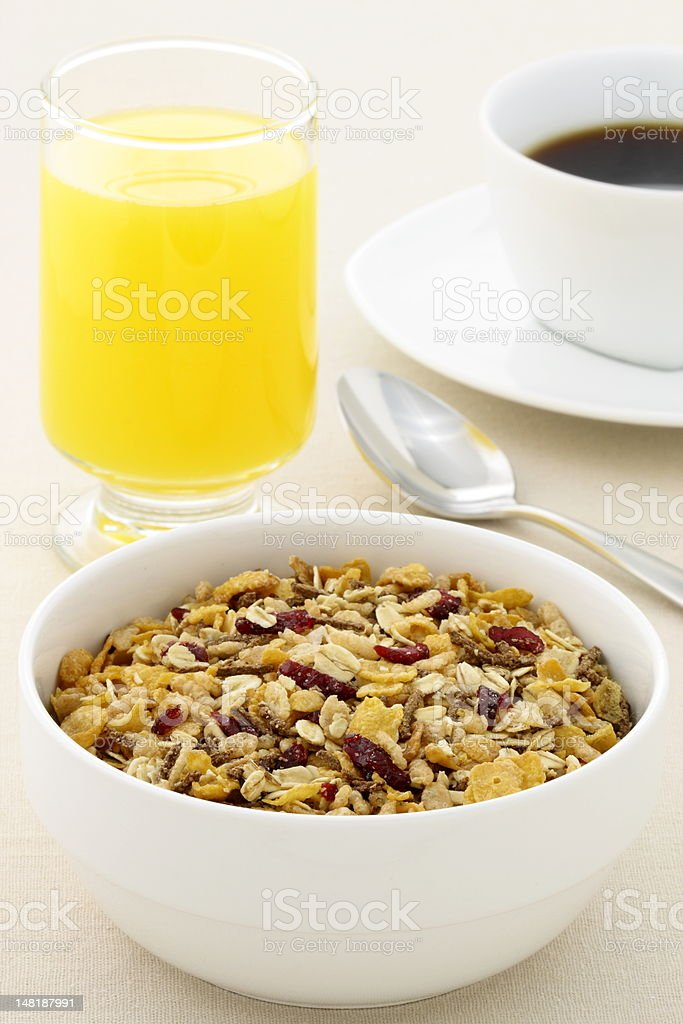 delicious fresh breakfast royalty-free stock photo