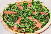 Delicious fresh italian pizza