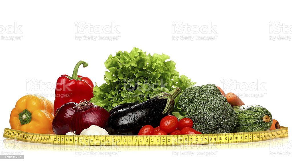 Delicious group of healthy vegetables royalty-free stock photo
