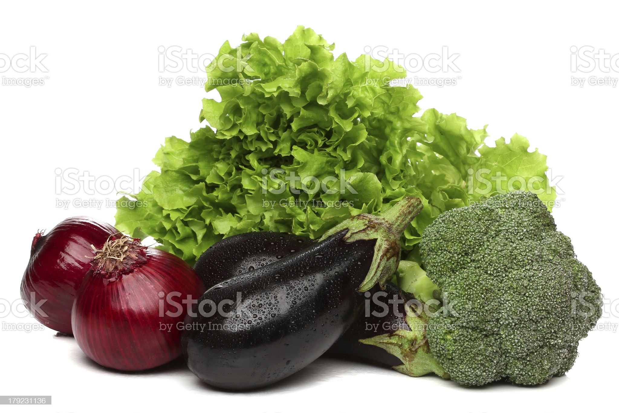 Delicious group of vegetables royalty-free stock photo