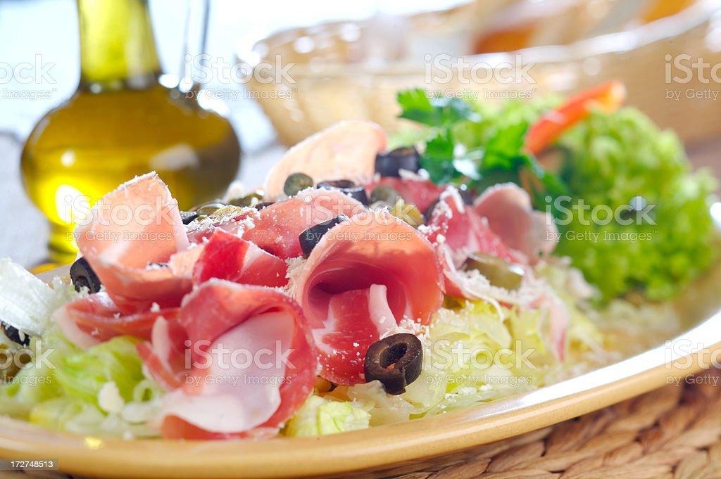 Delicious ham stock photo