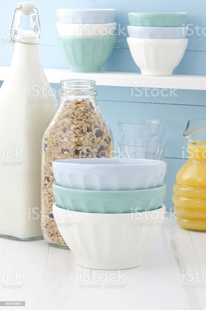 Delicious healthy breakfast royalty-free stock photo