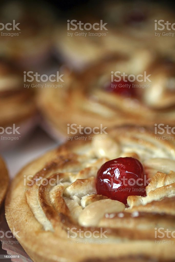 Delicious Italian pastry in Rome royalty-free stock photo
