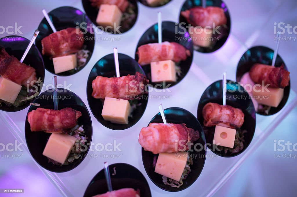 Delicious ketering stock photo