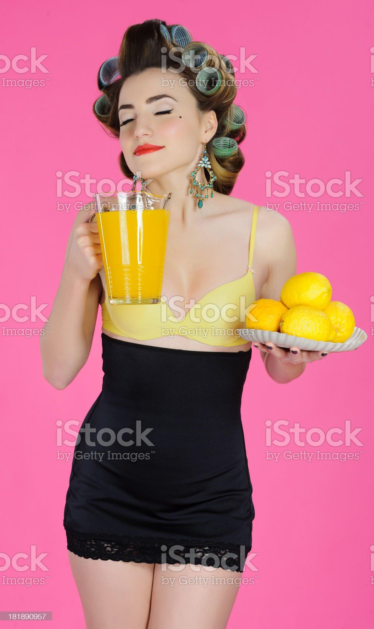 delicious lemonade royalty-free stock photo