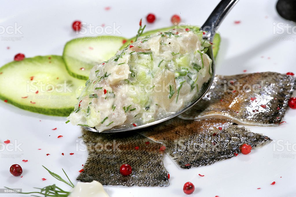 delicious looking dish royalty-free stock photo
