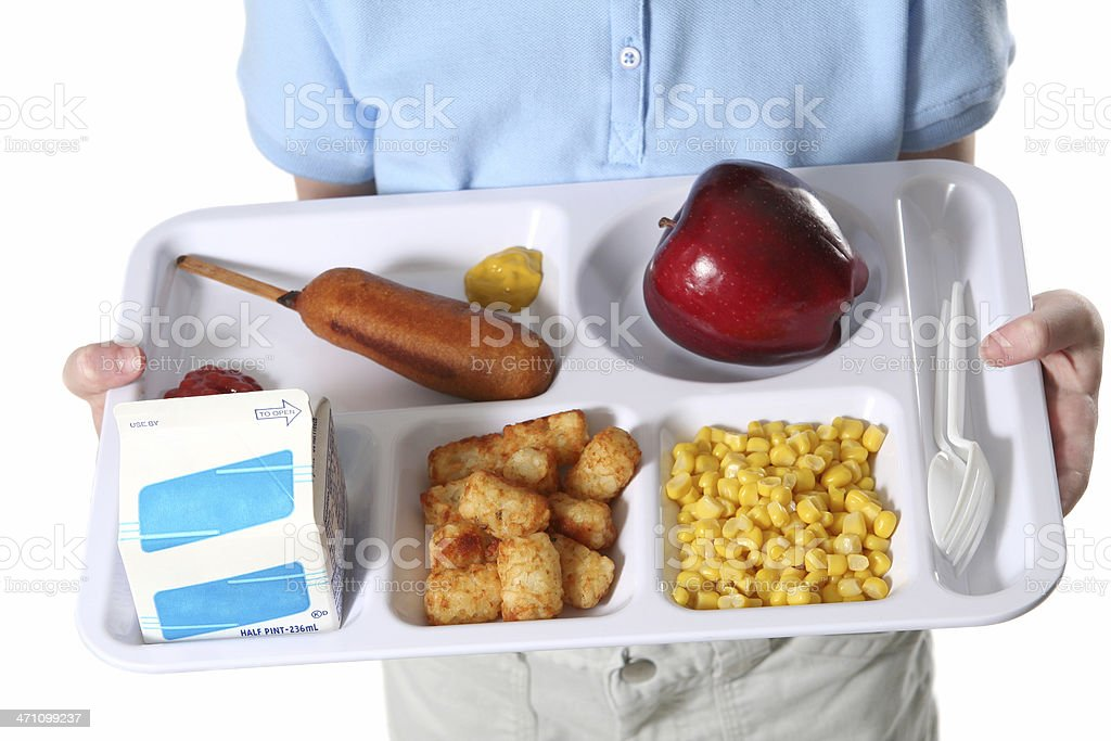 Delicious Lunch Tray stock photo