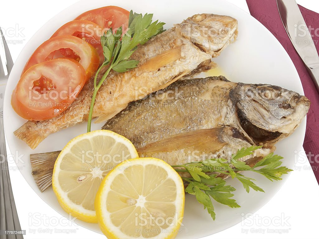 Delicious meal stock photo